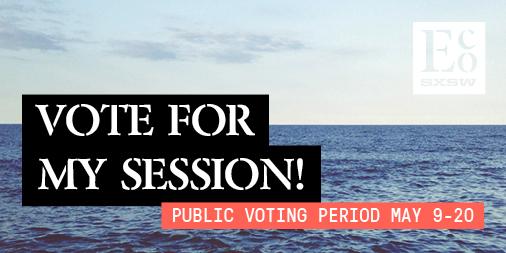 vote for sxsw panel logo