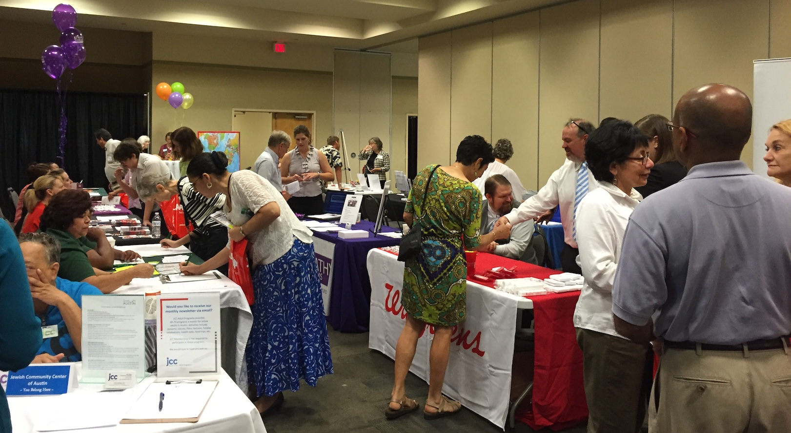 in atx job fair is hosting a expo to match available job opportunities workers who are 55 and older it will take place from 10 a m to noon on tuesday