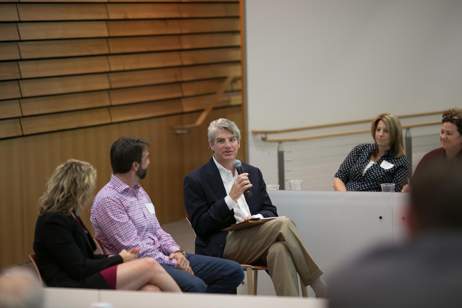 investor panel photo